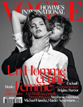 Vogue Hommes International - A Man and A Woman - Fall 2012 - Winter 2013