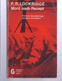 Mord nach Rezept : Kriminalroman = Murder by the book. [Aus d. Amerikan. übertr. von Wulf Bergner], Goldmann-Taschen-Krimi ; 4116