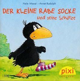 Der kleine Rabe Socke und seine Schätze PIXI Buch Nr. 1596 aus der PIXI Bücher Serie178