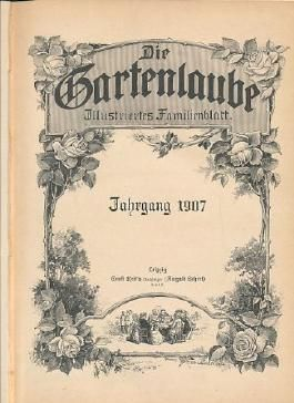 Die Gartenlaube. Illustriertes Familienblatt. Jahrgang 1907.