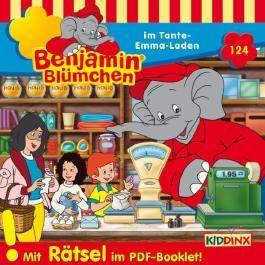 Benjamin Blümchen im Tante-Emma-Laden (Benjamin Blümchen 124)