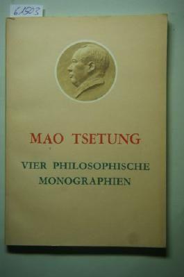 Vier Philosophische Monographien