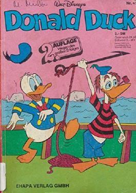 Donald Duck Nr. 45 2. Auflage