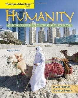 Cengage Advantage Books: Humanity: An Introduction to Cultural Anthropology 8th edition by Peoples, James, Bailey, Garrick (2008) Taschenbuch