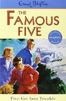 Famous Five: 8: Five Get Into Trouble by Enid Blyton (Illustrated, 19 Mar 1997) Paperback