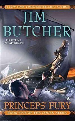 [Princeps' Fury] (By: Jim Butcher) [published: November, 2009]