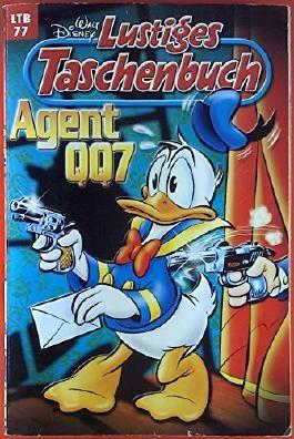 Walt Disney. Lustiges Taschenbuch 77: Agent QQ7. Comic