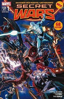 """Secret Wars #1 *Das unglaublichste Marvel-Event seit """"CIVIL WAR"""" beginnt.* (2016, Panini)"""