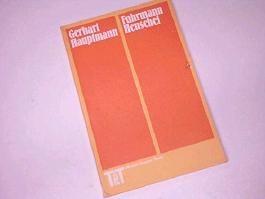 Fuhrmann Henschel : Schauspiel ; Text d. Centenar-Ausgabe 3548049761.