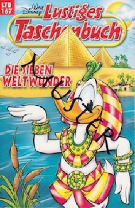 Walt Disney: LTB Lustiges Taschenbuch Band 167: Die sieben Weltwunder - Donald Duck und Micky Maus Comics für deine Sammlung