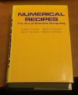 Numerical Recipes: The Art of Scientific Computing by William H. Press (1986-01-31)