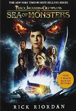 Percy Jackson and the Olympians, Book Two The Sea of Monsters (Movie Tie-In Edition) (Percy Jackson & the Olympians) by Rick Riordan (2013-07-02)