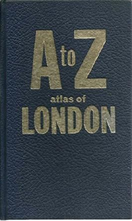 GEOGRAPHERS' A to Z STREET ATLAS OF LONDON, published by Geograpers' Map Company Ltd. Under the direction of Phyllis Pearsall