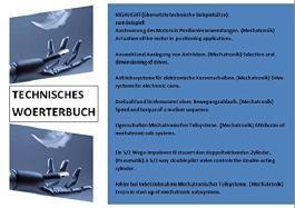 Mechatronik goes english (englische Woerterbuch-Begriffe + deutsche Technik-Saetze uebersetzen)