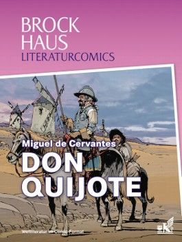 Brockhaus Literaturcomics Don Quijote