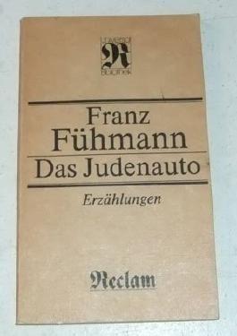 Das Judenauto. Erzählungen