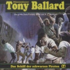 Das Schiff der schwarzen Piraten, Audio-CD. Tl.3