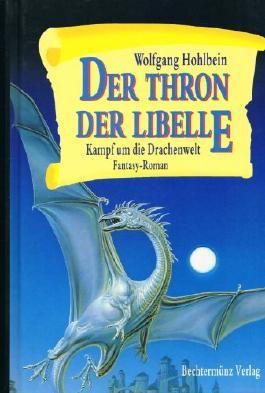 Der Thron der Libelle - Kampf um die Drachenwelt. Fantasy-Roman.
