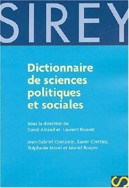 Dictionnaire de science politique et sociale