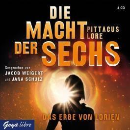 Die Macht der Sechs: Das Erbe von Lorien von Pittacus Lore (2012) AudioCD