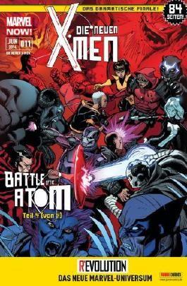 Die neuen X- Men #11 - Battle of the Atom- Das Finale! (2014, Panini) ***MARVEL NOW***