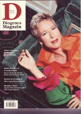 Diogenes Magazin Nr.8 + Dürrenmatt Magazin