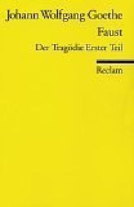 Faust I: Der Tragödie erster Teil von Goethe. Johann Wolfgang von (2000) Taschenbuch