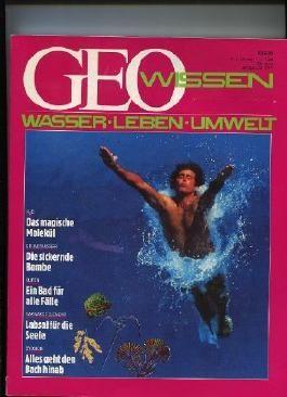 GEO Wissen 2/88: Wasser, Leben, Umwelt