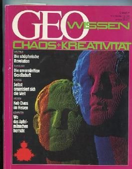 "GEO Wissen Jahrgang 1990 Nr.2 ""Chaos+Kreativität"""