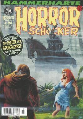 Hammerharte HORROR SCHOCKER Comic # 24 - Reiter der Apokalypse (Horror)