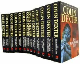 INSPECTOR MORSE COLLECTION 13 BOOKS COLIN DEXTER SET RRP £90.87 (INSPECTOR MORSE COLLECTION) (REMORSEFUL DAY, DEAD OF JERICHO, DEATH NOW MY NEIGHBOUR, LAST SEEN WEARING, LAST BUS WOODSTOCK, WAY THROUGH WOODS, DAUGHTERS OF CAIN, WENCH IS DEAD, JEWEL THAT WAS OURS, SERVICE OF ALL THE DEAD, THE SILENT WORLD OF NICHOLAS QUINN, LAST SEEN WEARING, LAST BUS TO WOODSTOCK)