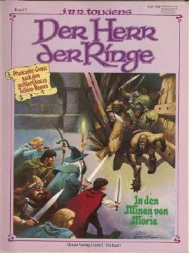 In den Minen von Moria (Der Herr der Ringe Comic Band 2 - Phantastic Comic nach dem weltberühmten Tolkien-Roman)