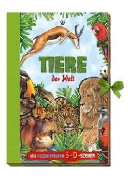 Karussellbuch - Tiere der Welt