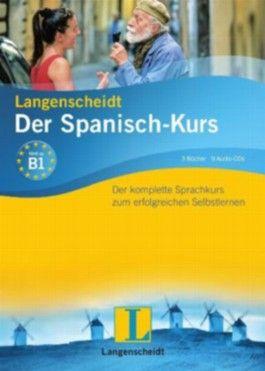 Langenscheidt Der Spanisch-Kurs - Set mit 3 Büchern und 8 Audio-CDs