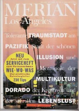 Los Angeles, Merian Jahrgang 46. Heft 3 - Das Monatsheft der Städte und Landschaften. 3455293034