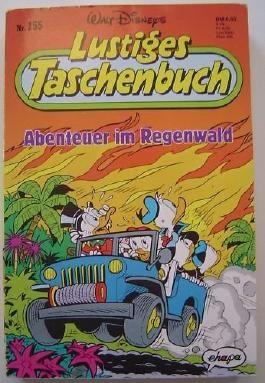 Lustiges Taschenbuch Nr.155 Abenteuer im Regenwald