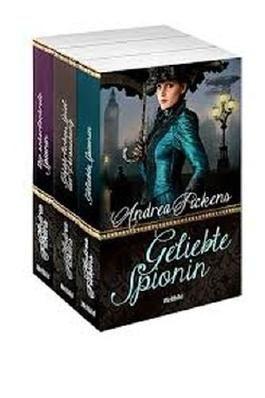 """Merlin's-Maiden-Reihe: """"Geliebte Spionin"""", """"Gefährliches Spiel der Verführung"""", """"Die scharlachrote Spionin"""""""