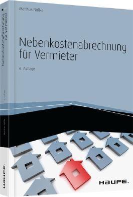 Nebenkostenabrechnung für Vermieter, m. CD-ROM