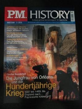 P.M. History 7/ 2011