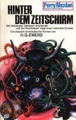 Perry Rhodan Planetenroman 168 / Hinter dem Zeitschirm 2. Auflage