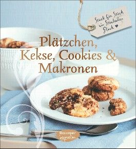 Plätzchen, Kekse, Cookies und Makronen