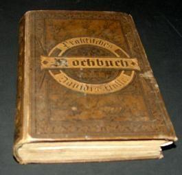 Praktisches Kochbuch Davidis Holle, geb. Ausgabe (1898)