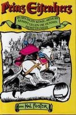 Prinz Eisenherz - In den Tagen König Arthurs, Kämpft gegen die Hunnen, Im Mittelmeer.