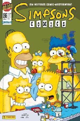 SIMPSONS COMICS 186 - GANZ GROSSE KUNST mit aufblasbarem Hammer (Simpsons)