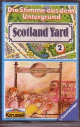 Scotland Yard Folge 2 / Die Stimme aus dem Untergrund / MC