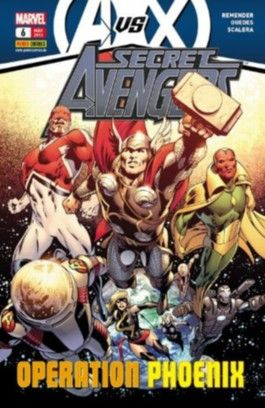 Secret Avengers #6 - Operation Phönix (2013, Panini) ***Avengers vs. X- Men***
