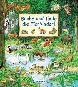 Suche und finde die Tierkinder!