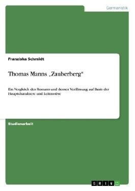 "Thomas Manns""Zauberberg"""