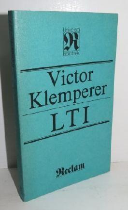 Victor Klemperer LTI Reclam Ausgabe von 1990 toll erhalten