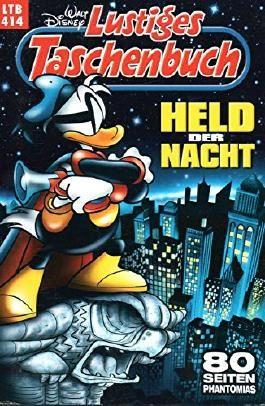 """WALT DISNEY Lustiges Taschenbuch (LTB) # 414: DONALD DUCK in """"Phantomias - Held der Nacht"""""""